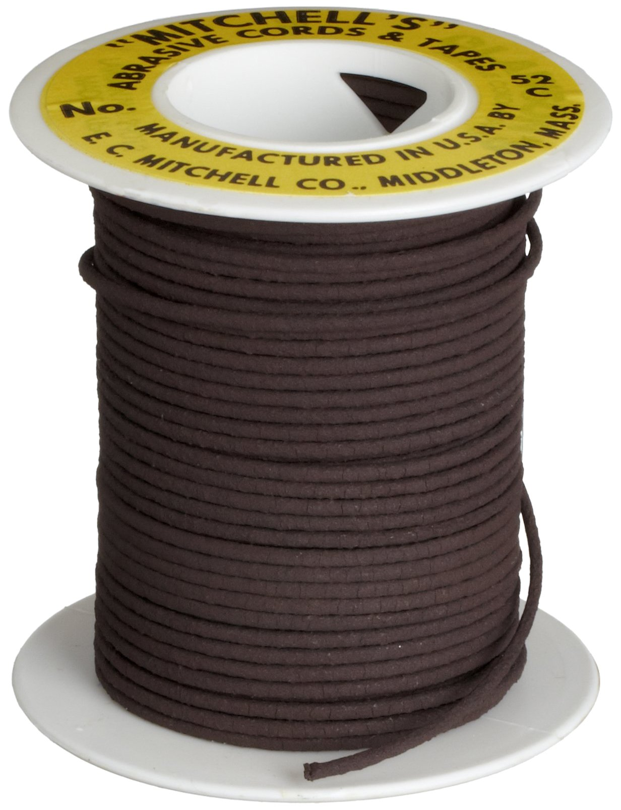 Mitchell Abrasives 52-C Round Crocus Polishing Cord.055 Diameter x 25 Feet
