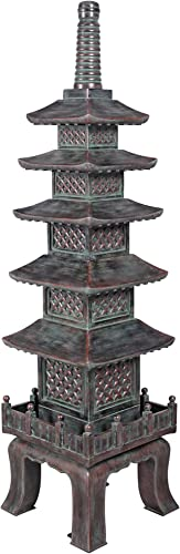 Design Toscano The Nara Temple Pagoda Asian Decor Garden Statue