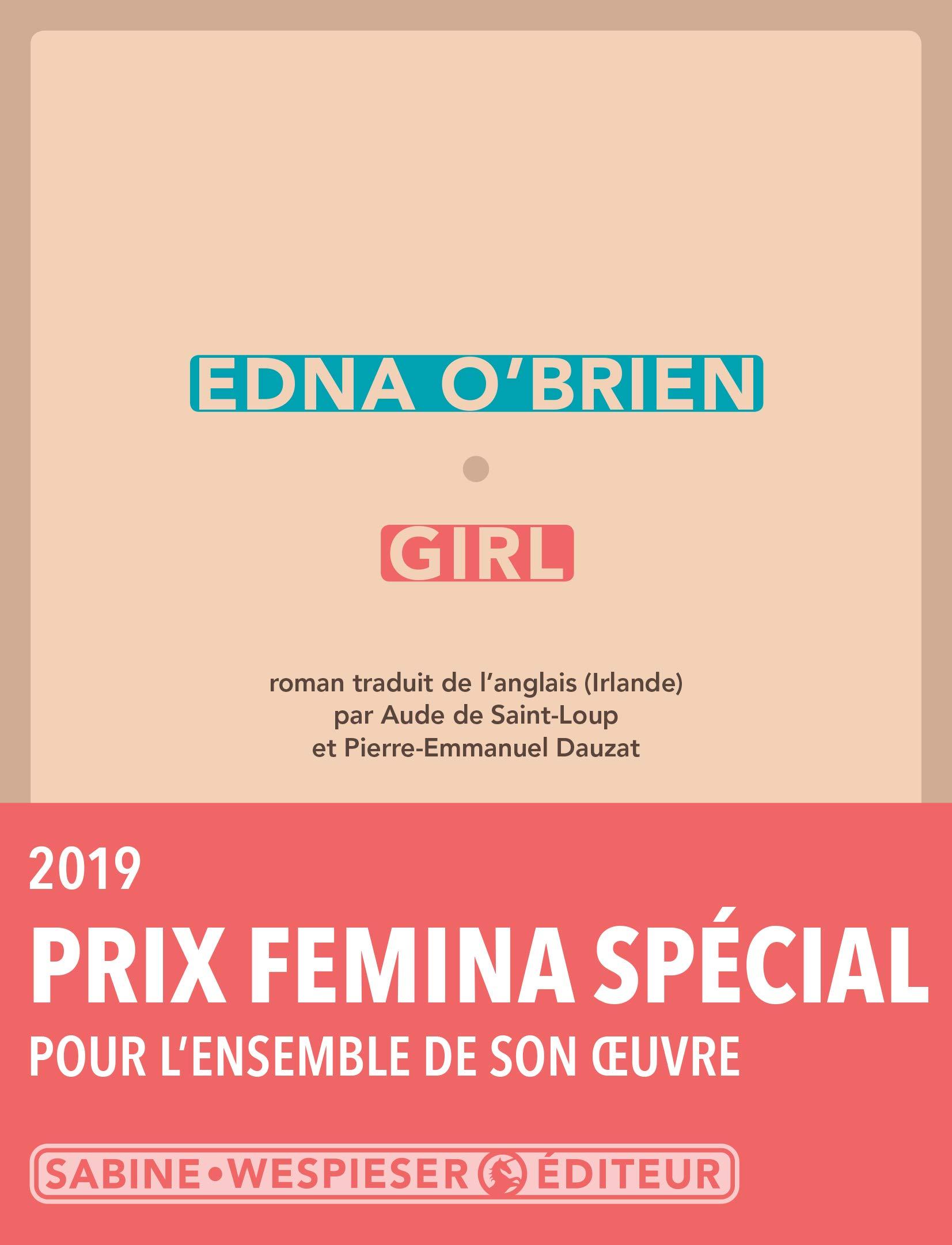 Amazon.fr - Girl - O'Brien, Edna, Saint-Loup, Aude de, Dauzat ...