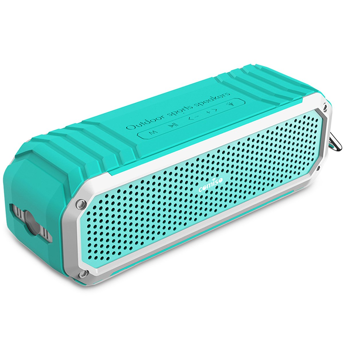 Altavoz Inalámbrico Bluetooth  COMISO Max Audio Altavoz Impermeable a Prueba de
