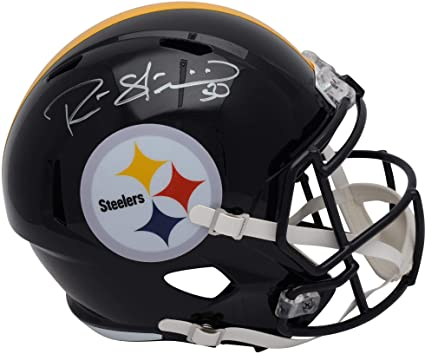 15e9bd450b0 Amazon.com: Ryan Shazier Pittsburgh Steelers Autographed Riddell Speed  Replica Helmet - Fanatics Authentic Certified: Sports Collectibles