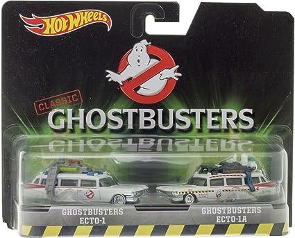 Hot Wheels - Pack de 2 Coches de Juguete, Tema Ghostbusters (DVG08 ...