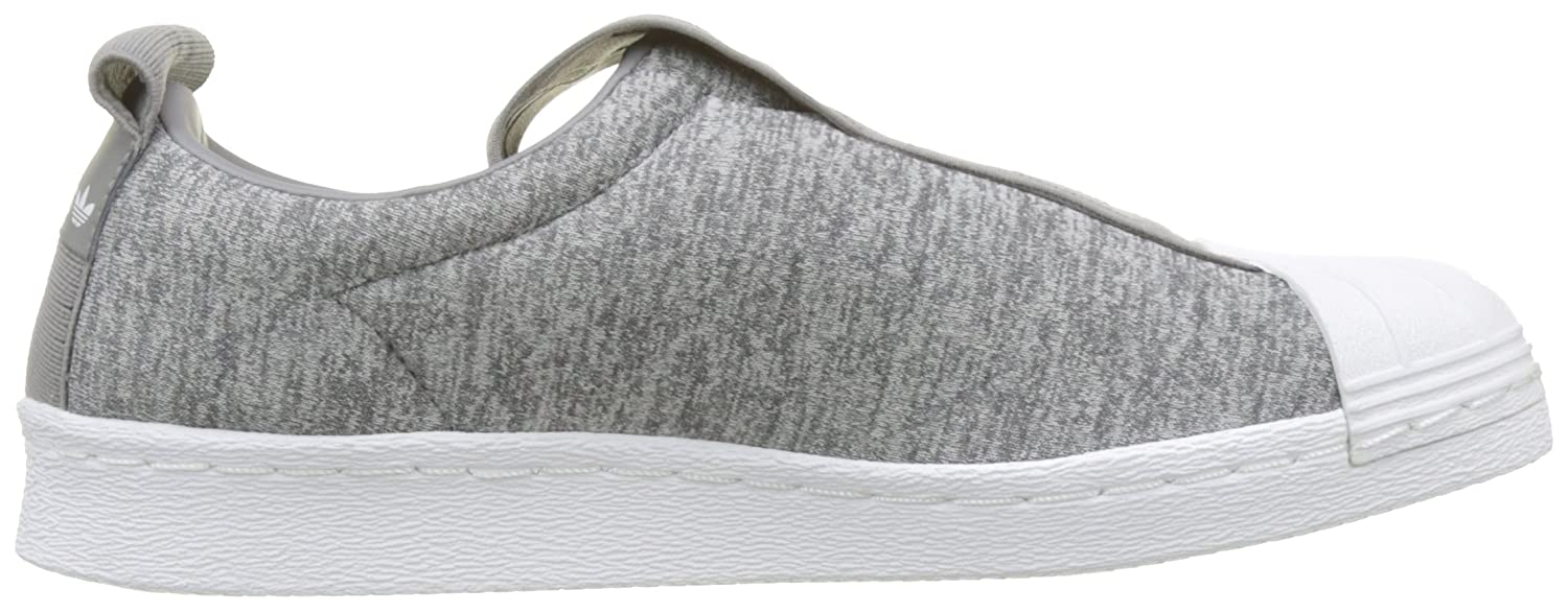 Adidas Damen Superstar Bw3s Slipon W Gymnastikschuhe Grau (Grau Two Two (Grau F17/Grau Three F17/Ftwr Weiß) 514201