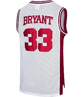RAAVIN Mens  33 High School Basketball Jersey Bryant Basketball Jersey  S-XXXL c89b762a5