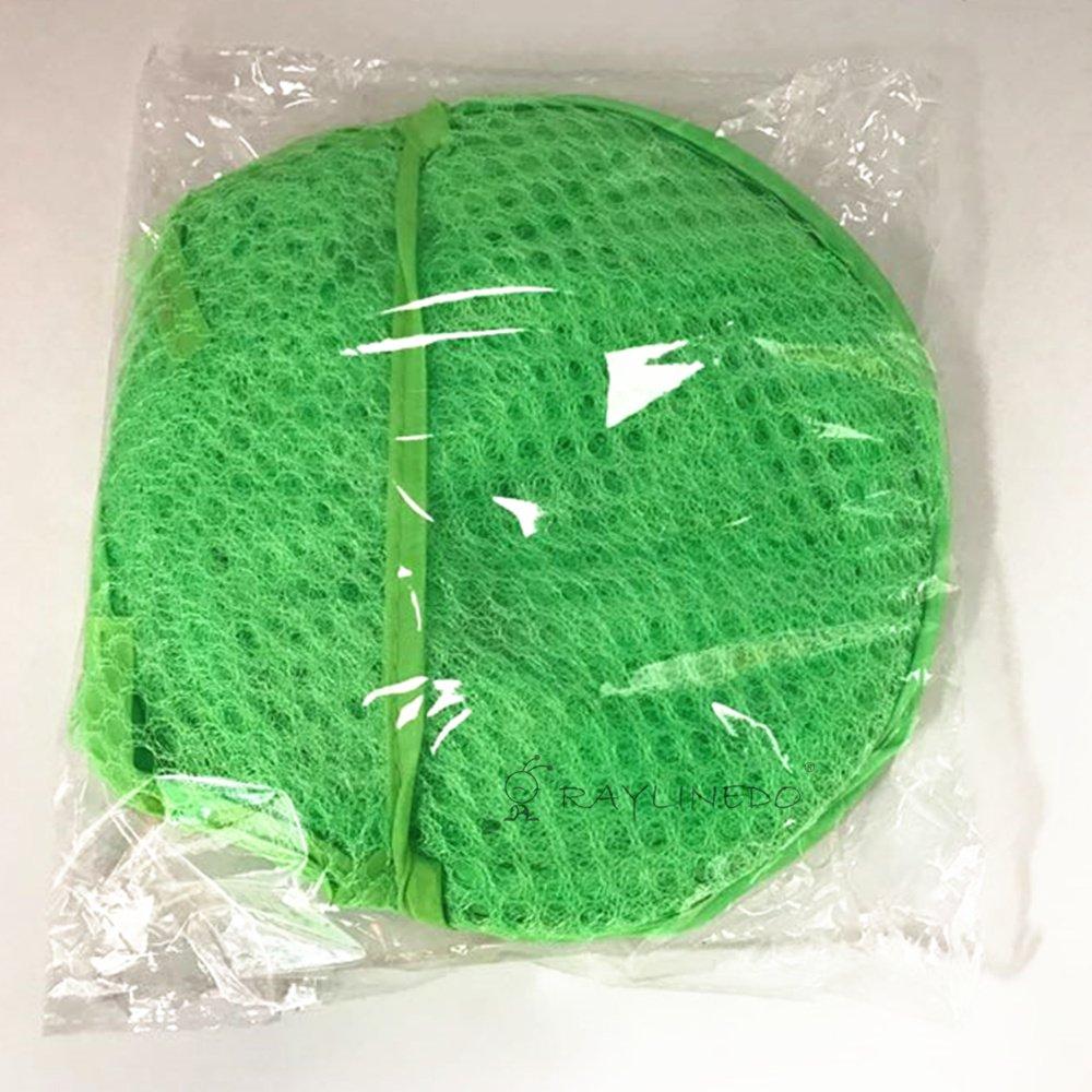 Raylinedo/® 6/x plegable Pop Up de malla lavado lavander/ía cesta bolsa de la basura Tidy Ropa almacenamiento