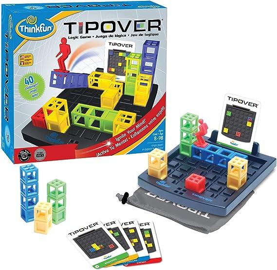 Think Fun - Tip Over, Juego de Mesa en español (TF7070): Amazon.es: Juguetes y juegos