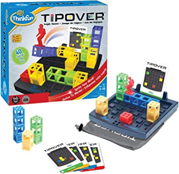 Think Fun - Tip Over, Juego de Mesa en español (TF7070): Amazon.es ...