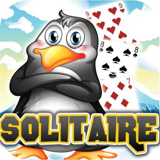 Real Solitaire - Penguin Gangster Free Solitaire Real