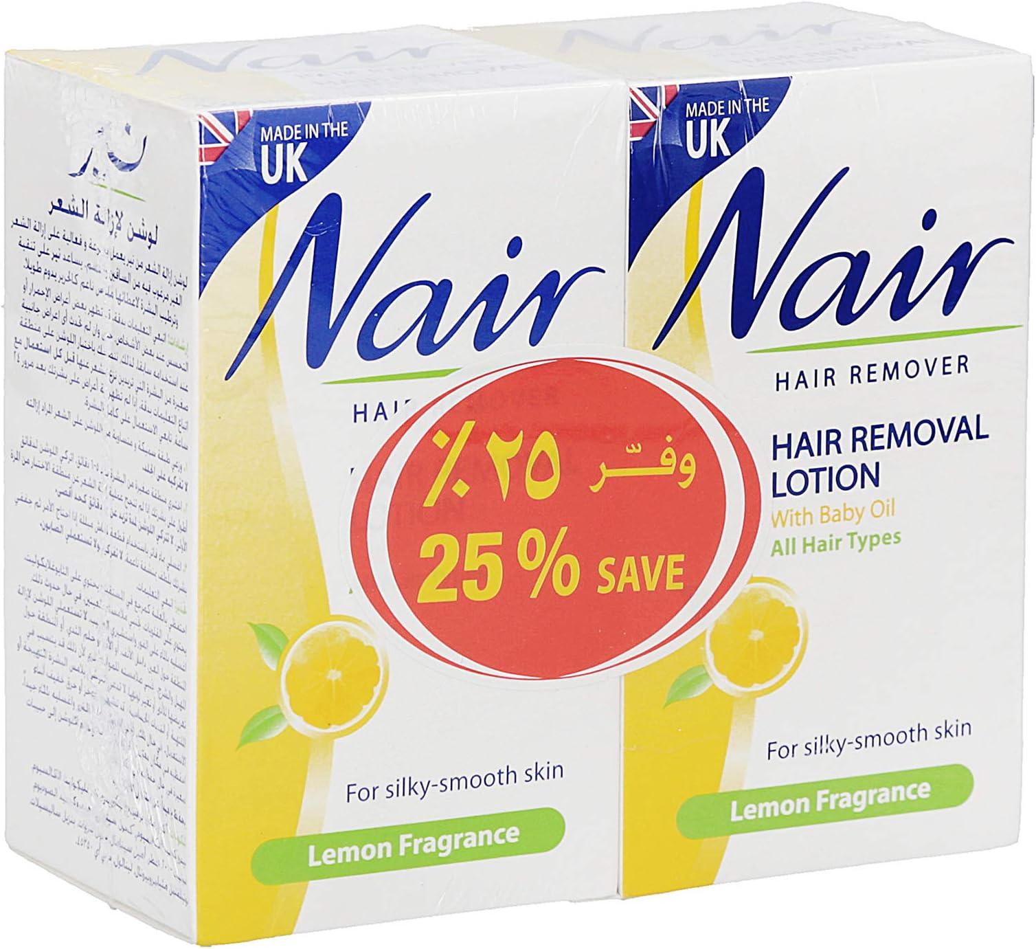 Nair Lemon Jar Hair Remover 2 X 120ml Price In Uae Amazon Uae