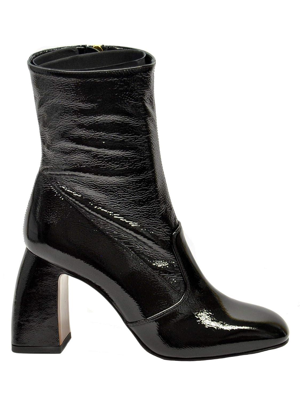 c026425b4344 L Autre Chose Women s LDG11885WP01526060 Black Patent Leather Ankle Boots   Amazon.co.uk  Shoes   Bags