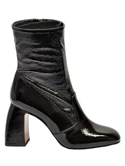 d8546477a8b2 L Autre Chose Women s Ldg11885wp01526060 Black Patent Leather Ankle Boots