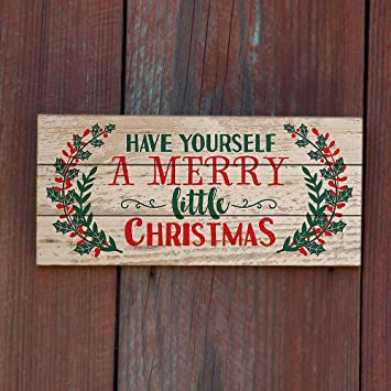 Christmas Wood Signs.Mode Home 15 8 X8 Christmas Wall Decor Decorative Wooden Signs With Quotes Sayings For Christmas