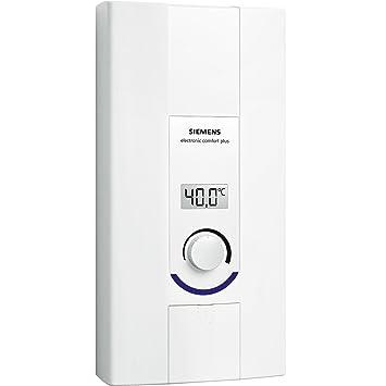 Siemens DE2124527M Vertical Sin depósito (instantánea) Sistema de calentador único Blanco calentadory - Hervidor