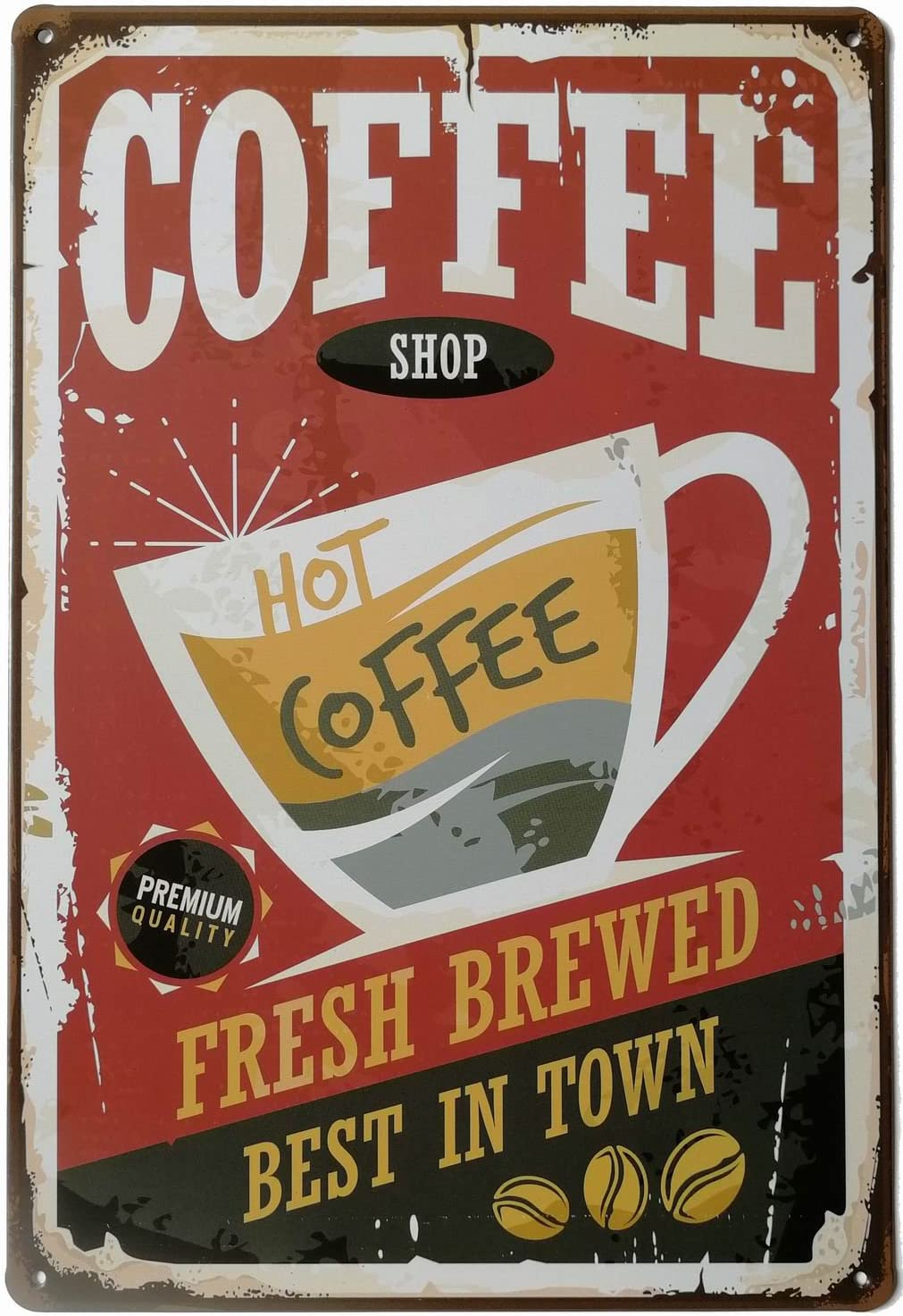Metal Tin Sign have a coffee  Decor Bar Pub Home Vintage Retro Poster Cafe ART