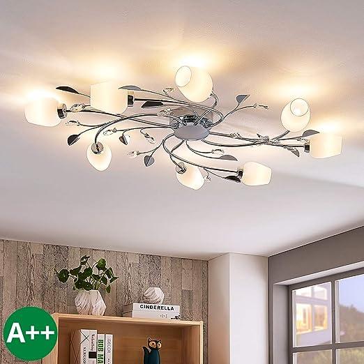 Lámpara de techo Freda (Moderno) en Plateado e.o. para ...