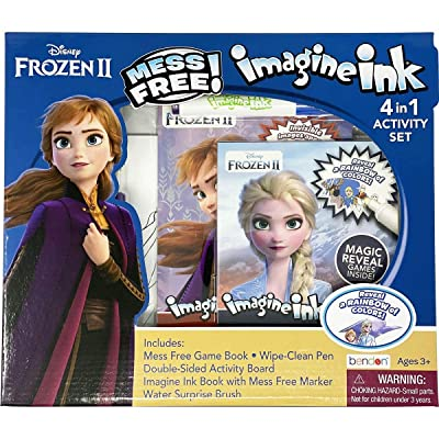 Disney Frozen 2 Imagine Ink 4-in-1 Box Set 45849, Multicolor: Toys & Games