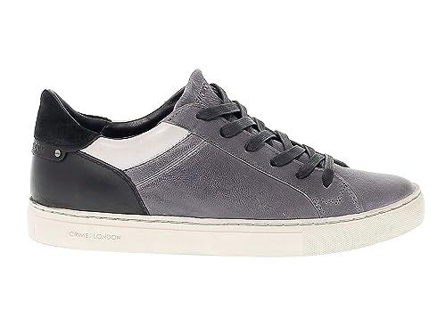 GrigioneroAmazon Uomo Camoscio 11031a1730 Crime London Sneakers 35LAR4j