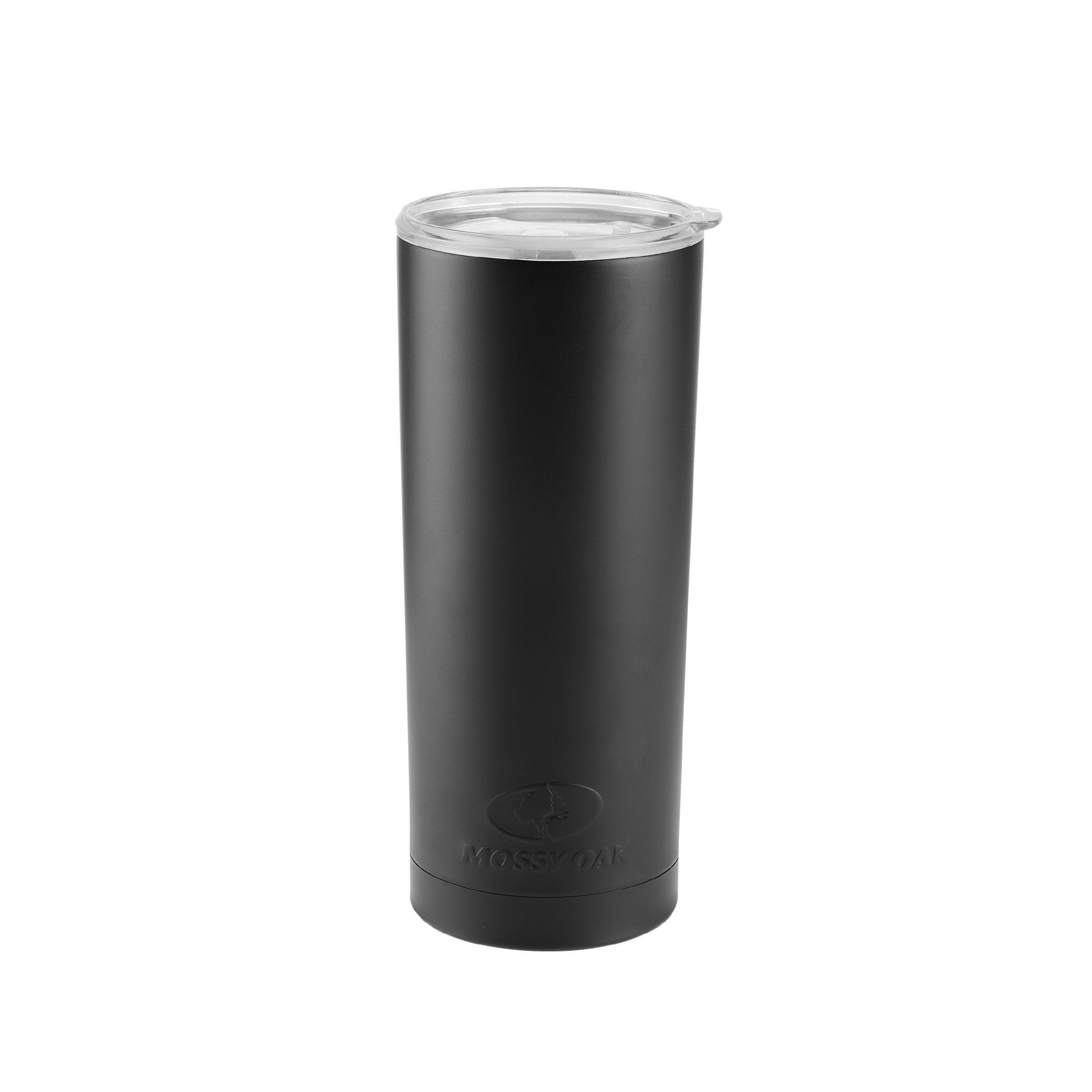 Mossy Oak 5189567 Double Wall Insulated Stainless Steel Tumbler, 20-Ounce, Black