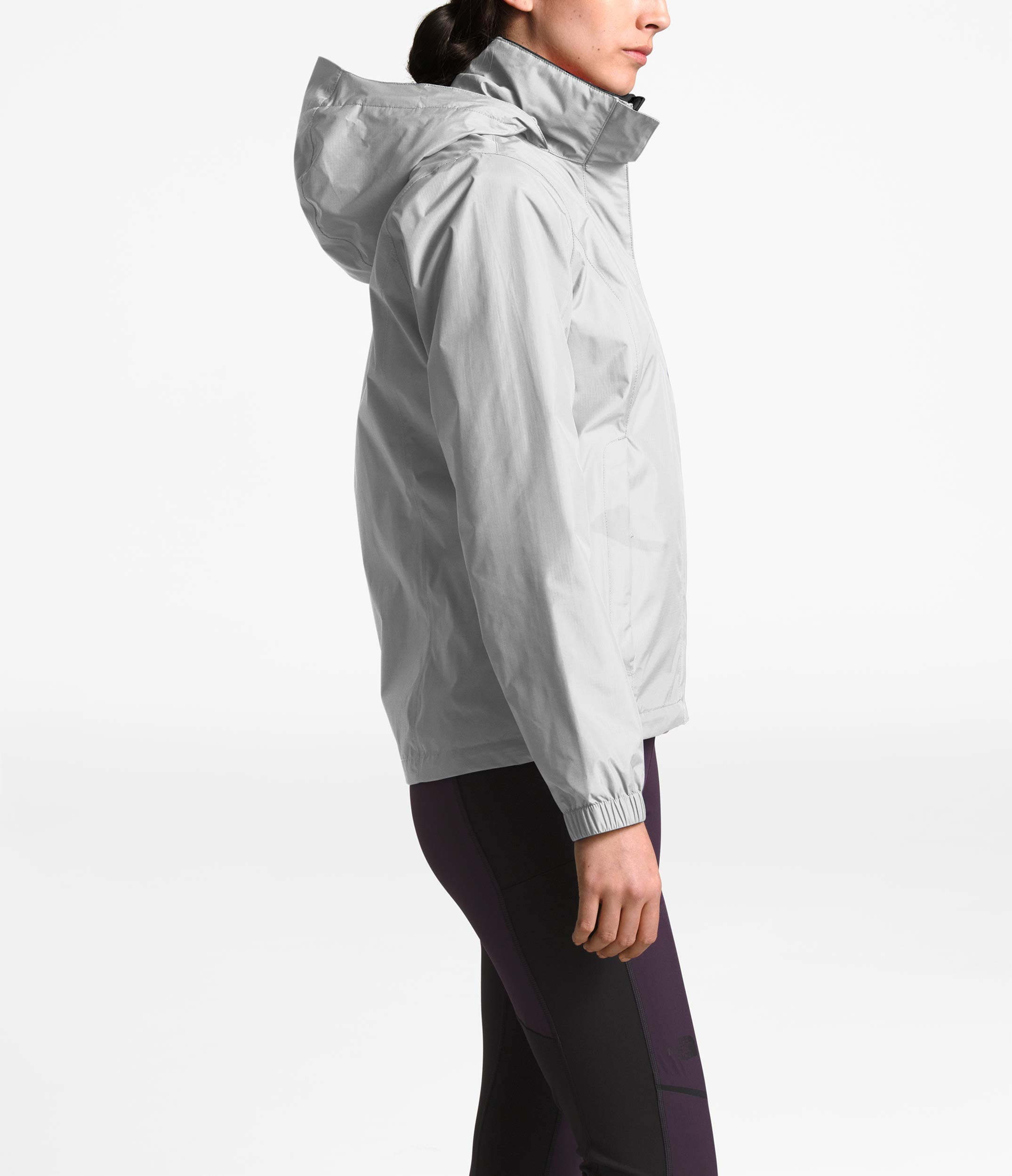 The North Face Women Resolve 2 Jacket - Mid Grey & TNF Black - M by The North Face (Image #3)