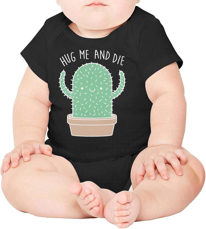 Hug Me and Die Baby Onesies Bodysuit Jumpsuit Godfer Arabe.Unisex Short Sleeve Cactus