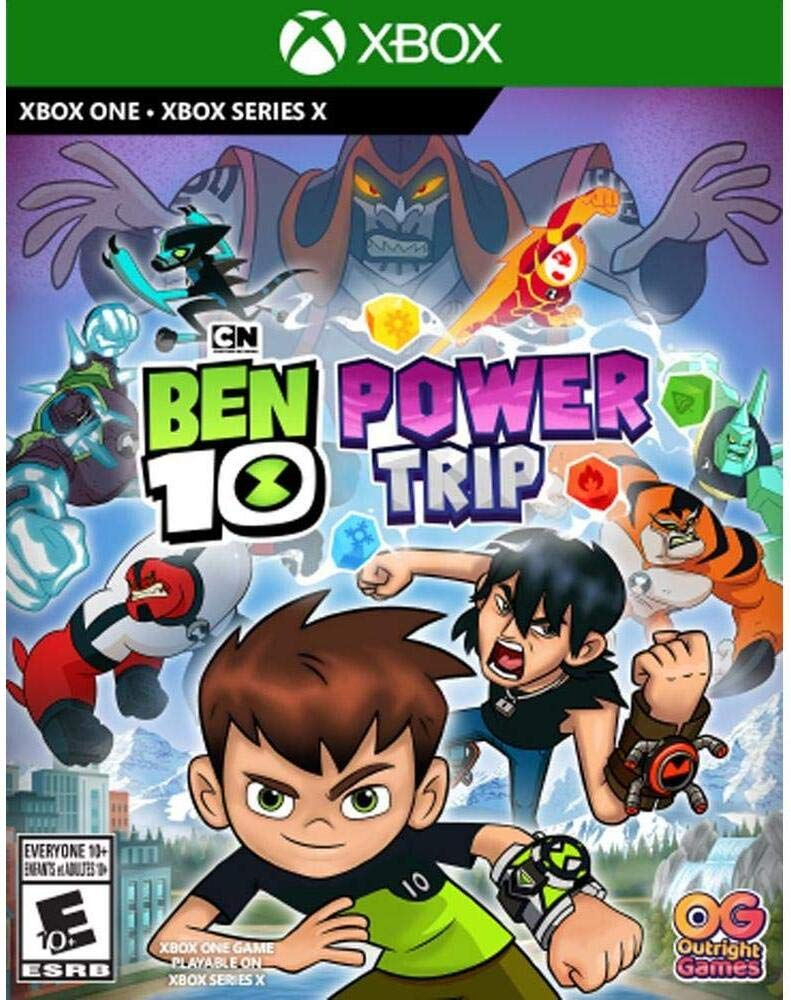 Amazon Com Ben 10 Power Trip Ui Entertainment Video Games