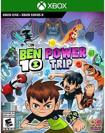 Ben 10 Power Trip Ui Entertainment Video Games