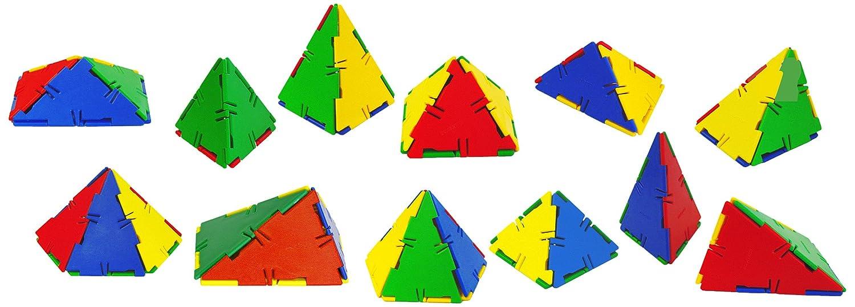 【国産】 Connectez 53 pièces pièces géométriques . Pyramides Pyramides .. . B004MTU0ZA, 大橋家具店:988decdb --- mrplusfm.net