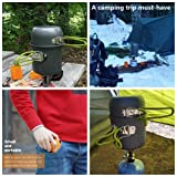 Camp Stove, Petforu Ultralight Portable Outdoor