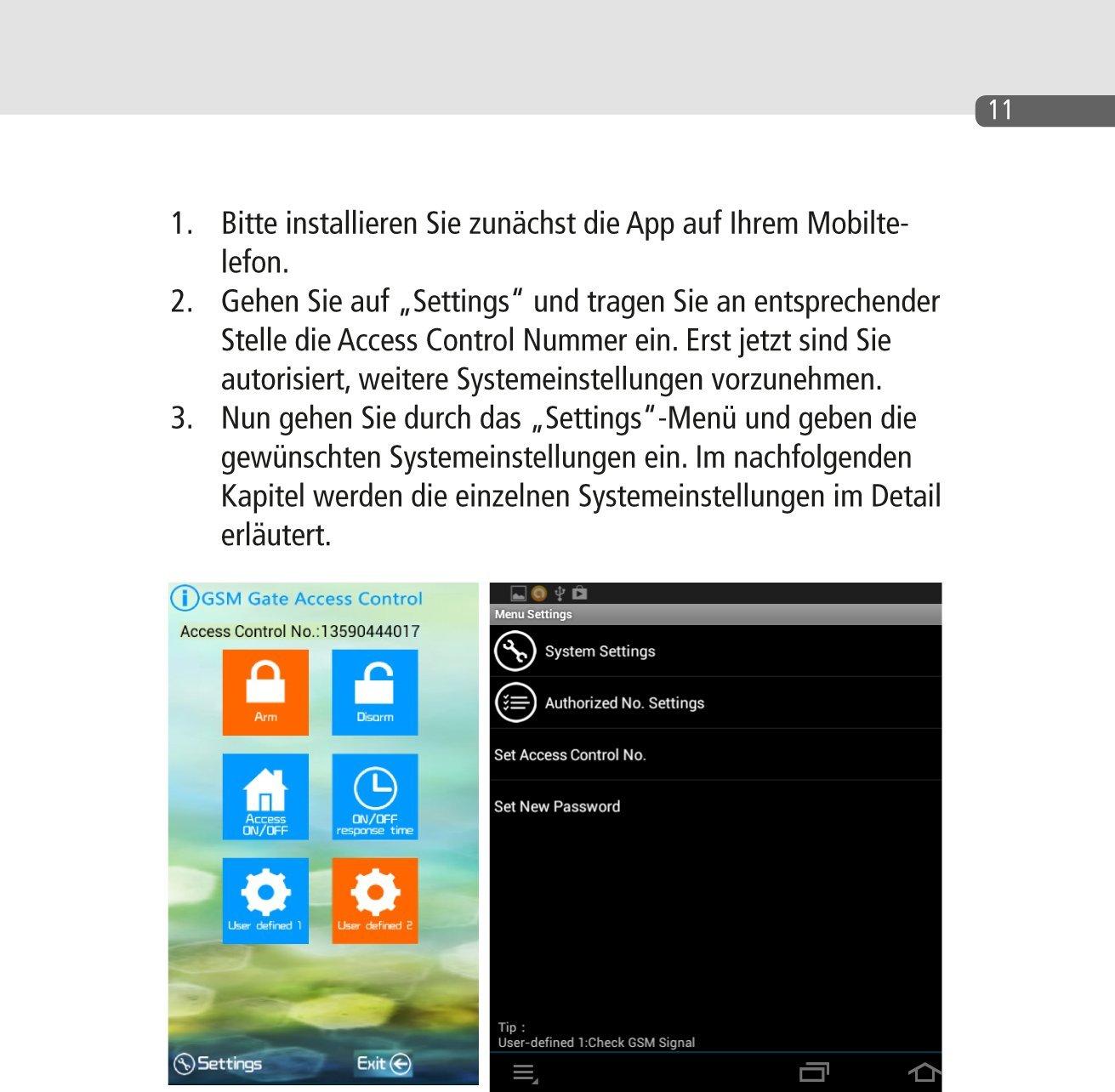 GSM Schalter, Gate Opener DRH-5015-SOLO inkl. Android APP, Schalten ...
