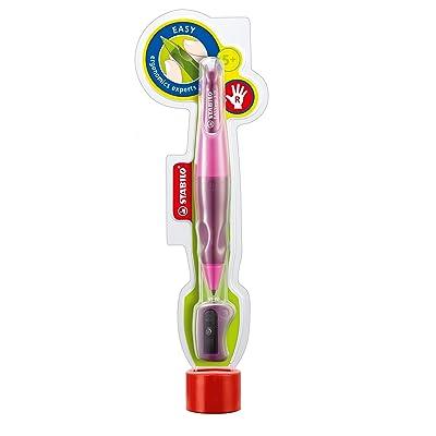 Stabilo EASYergonomics experts Porte-mine HB 3,15 mm + 1 taille-crayon Droitier Rose clair/Rose foncé
