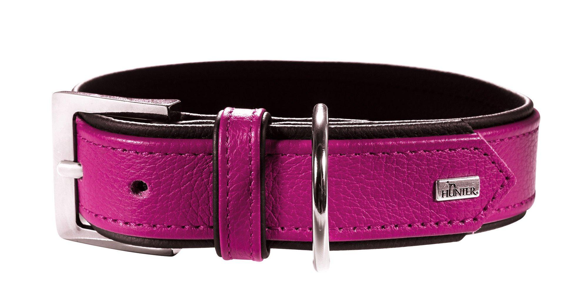 Hunter HT62454 Capri Nappa Leather Collar, One Size by Hunter