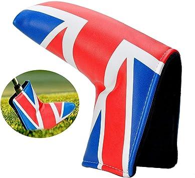 Lychee Blade Funda Putter de Golf,Diseño de La Bandera Británica ...