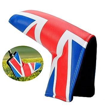 Lychee Blade Funda Putter de Golf,Diseño de La Bandera ...