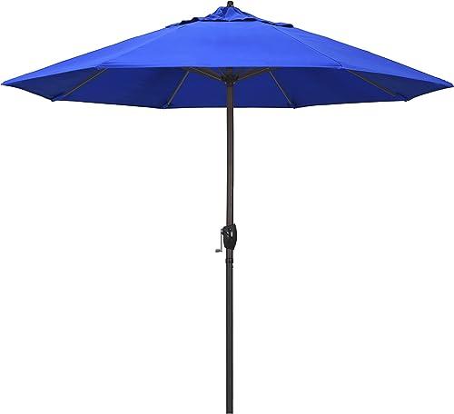 California Umbrella ATA908117-5401 9' Round Aluminum Market