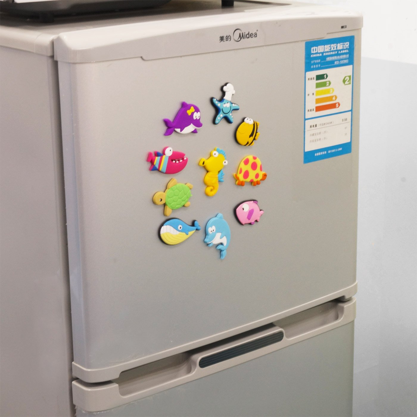 Fridge Magnets for Toddlers Under Sea Ocean Animal Magnets Cartoon Magnetic Fridge Funky Toy for Kids by Happy Cherry (Image #5)