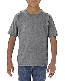 Gildan Youth Softstyle 45 oz T-Shirt XS - GRAPHITE HEATHER Style # G645B - Original Label