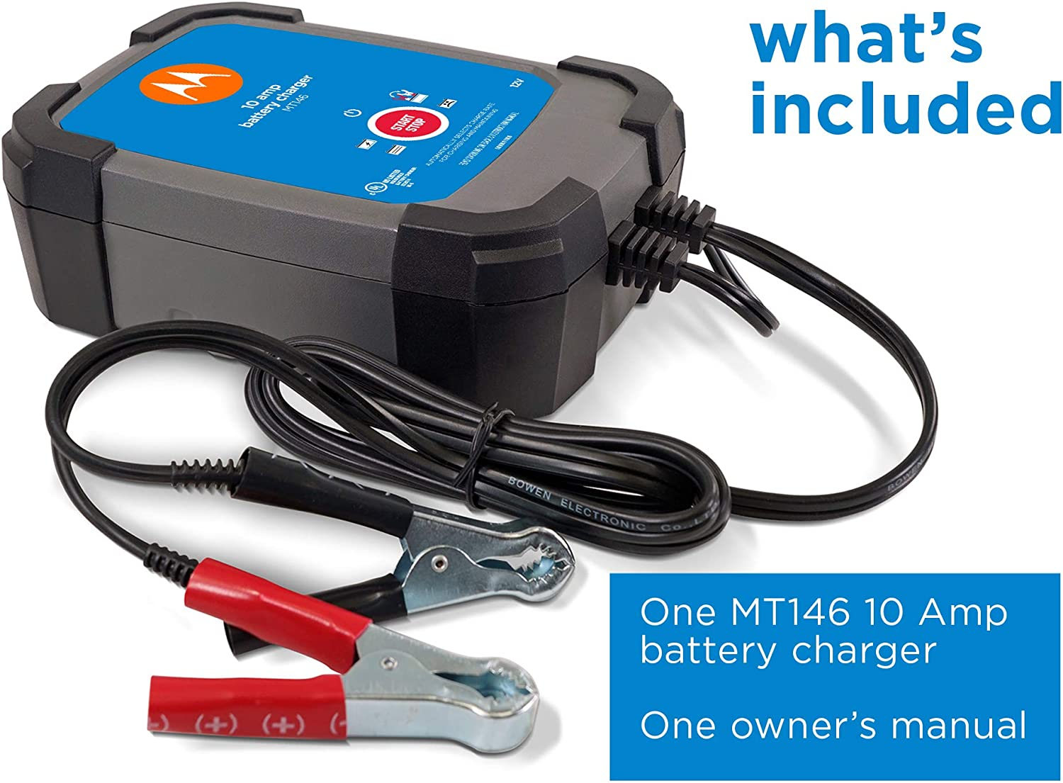 Tools & Equipment Motorola 10A 12V Charger Electrical System Tools