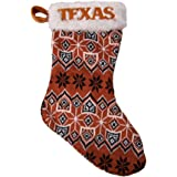 Forever Collectibles Texas Longhorns Official NCAA 19 inch Knit Christmas Stocking by 519220