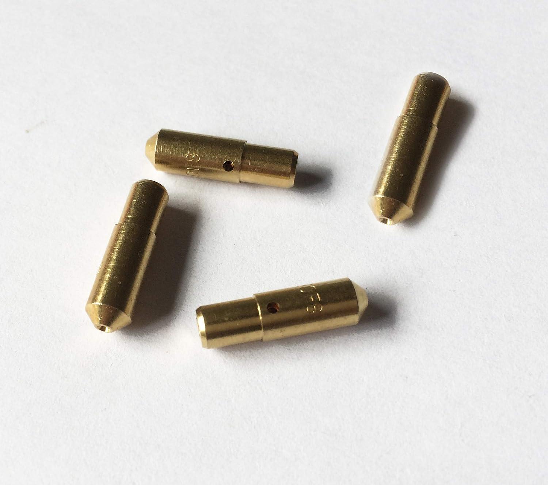 HENKYO Idle Jets Idle Speed Amount Hole for Weber DCOE Size 40to100 Optional F8//F9 4pcs