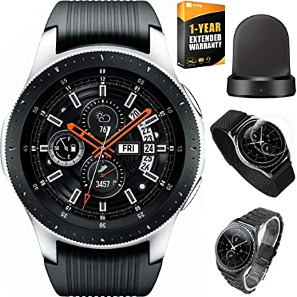 Amazon.com: Samsung Galaxy Watch Smartwatch acero inoxidable ...