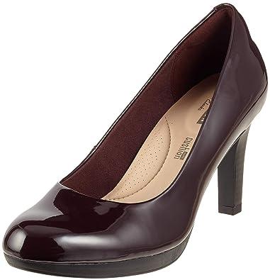 deb66900be86 Clarks Women s Adriel Viola Closed-Toe Pumps  Amazon.co.uk  Shoes   Bags