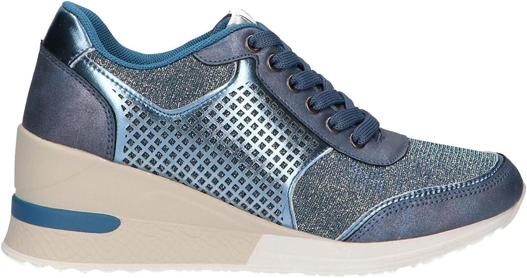 Zapatillas Deporte de Mujer MARIA MARE 67069 C41031 Bolt Vaquero Talla 39: Amazon.es: Zapatos y complementos
