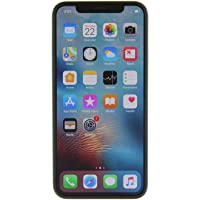 Apple iPhone X, GSM desbloqueado 5.8in (Renewed), 64 GB, Plateado