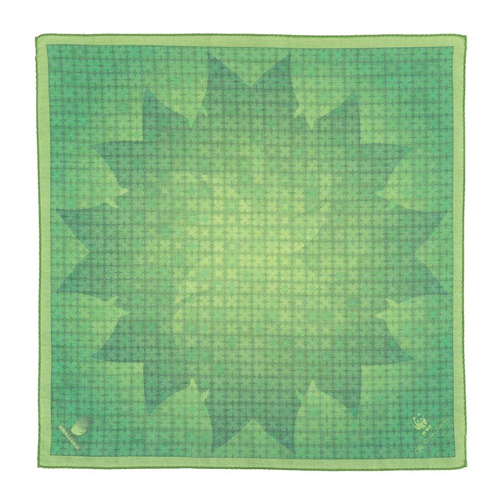 finest selection a869e f7433 Cruciani C C - Foulard WWF, Verde, 45x45 cm: Amazon.it ...