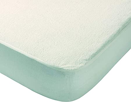 Todocama - Protector de colchón, de Rizo, Ajustable, 100% Impermeable con Tratamiento antiácaros, Fabricado con algodón biorgánico. (Cama 90 x 190/200 cm): Amazon.es: Hogar