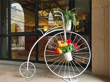 Fioriere Fai Da Te In Ferro ~ Fioriere da esterno scaffale per piante fiore biciclette in stile