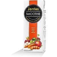 Batido de manzana y zanahoria Jorries Smoothies, elaborado con frutas y verduras de origen 100