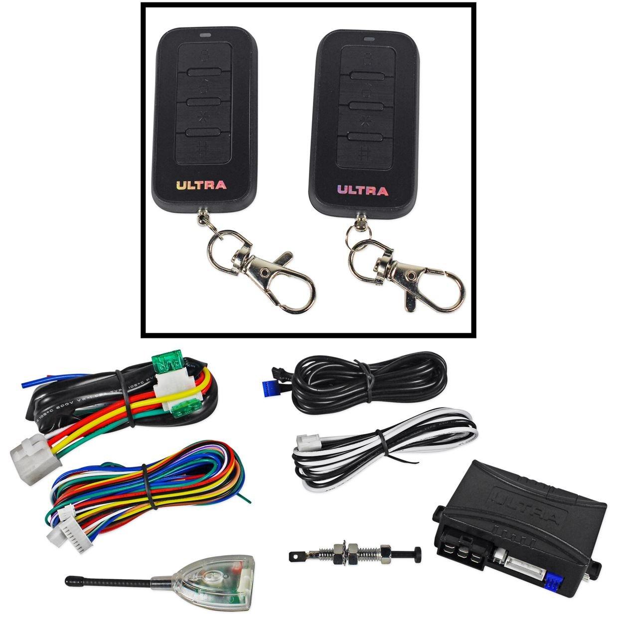 ultra remote car starter wiring diagram avital alarm