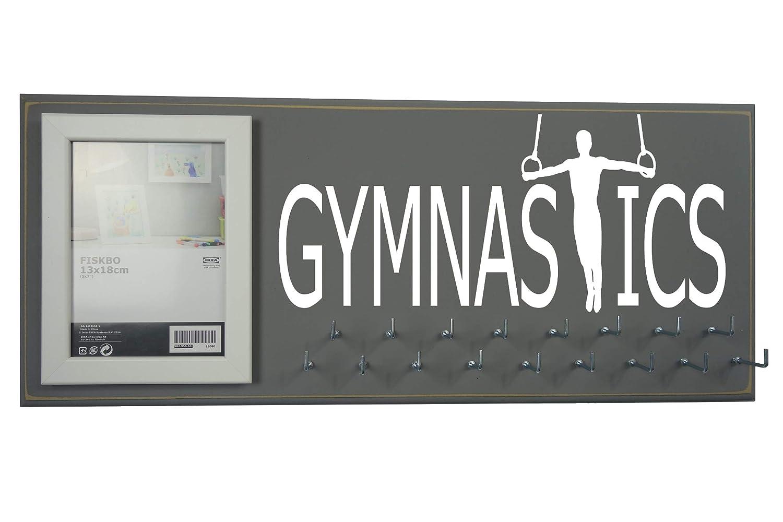 Running On The Wall Gifts Gymnasts Gymnastics Medal Holder Athletes Gymnastics Medal Display Rack Men