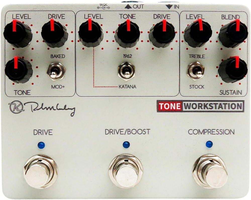 Compressor, 1962, Red Dirt, Katana NEW Keeley Electronics Tone Workstation